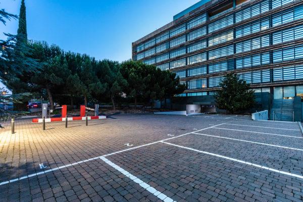 estacionamiento parque empresarial castellana norte madrid