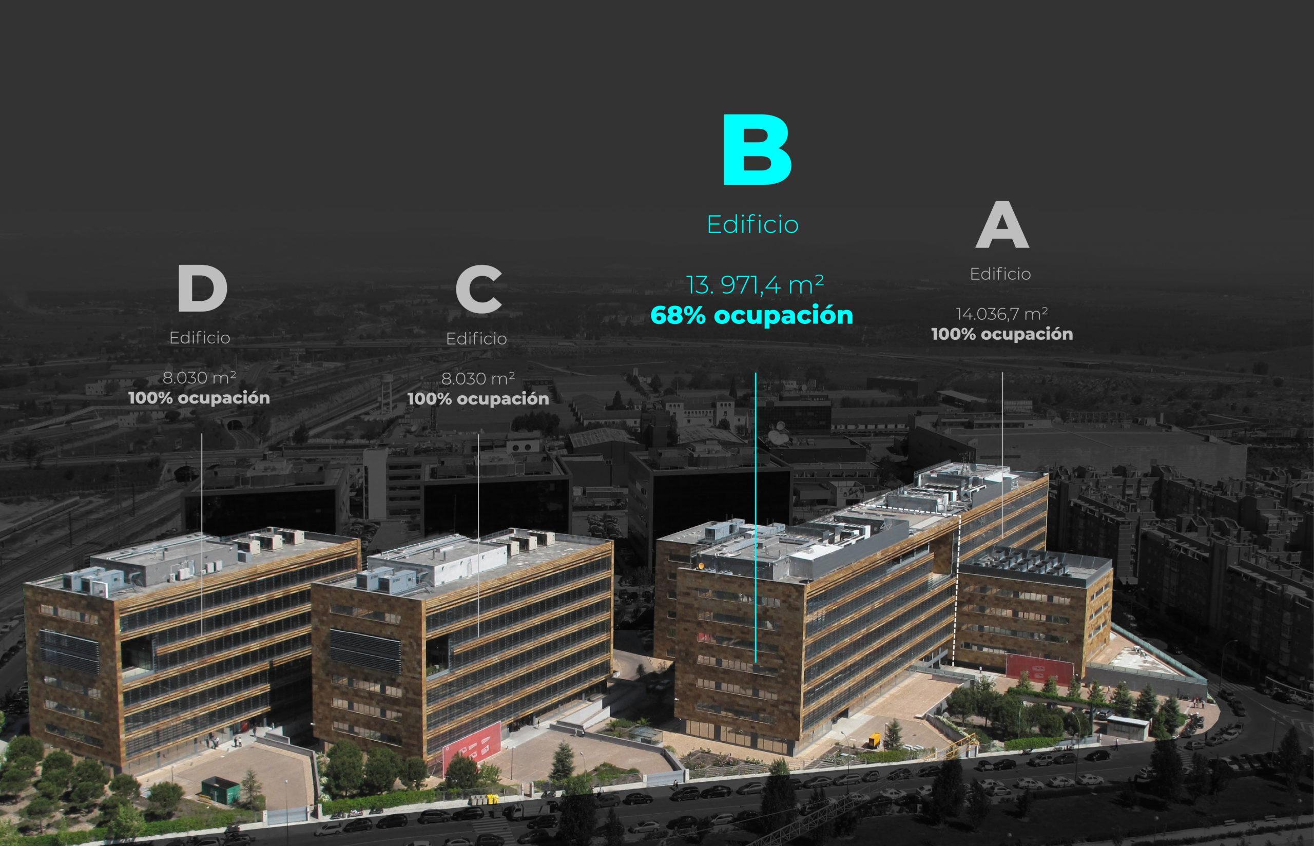 disponibilidad del edificio b castellana norte madrid 1